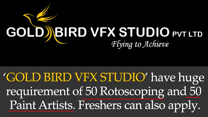 urgent requirement of roto and paint job vfx and stereo