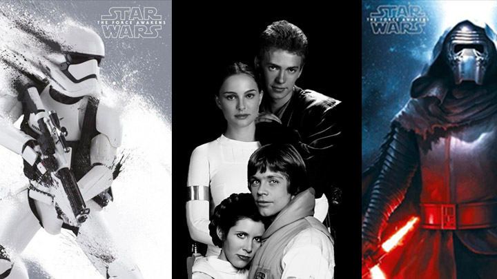 """Star Wars Character Posters Of Latest Episode """"The Force"""