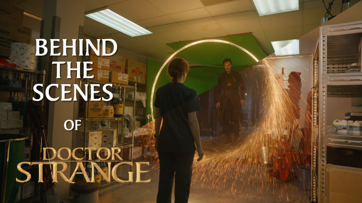 Behind The Scenes Of Doctor Strange Movie By Vicon And
