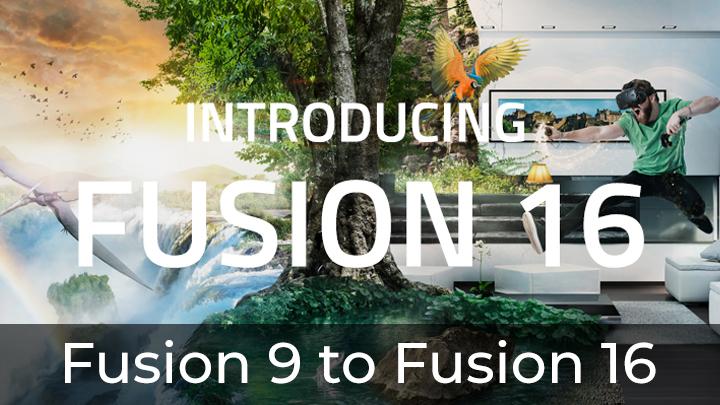 Fusion 9 To Fusion 16 Blackmagic Design Aligned It With Davinci Resolve